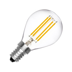 Ampoule LED E14 Dimmable Filament Sphère G45 3W