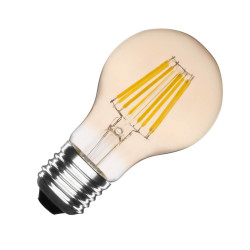 Ampoule LED E27 Dimmable Filament Gold Classic A60 6W