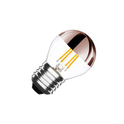 E27 LED bulb Dimmable Filament Copper Reflect G45 3.5 W