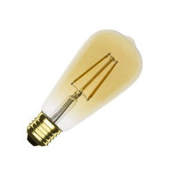 E27 LED bulb Dimmable Filament Gold Big Lemon ST64 5.5 W