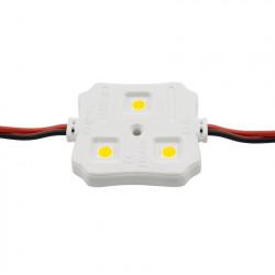 String of 20 Square module 3 LEDs SMD5050 12V 0.72 W