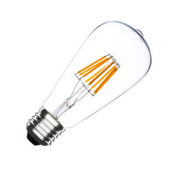 E27 LED bulb Dimmable Filament Transparent3 Big Lemon ST64 5.5 W