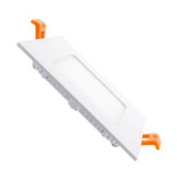 Slab LED Square Extra Flat 6W
