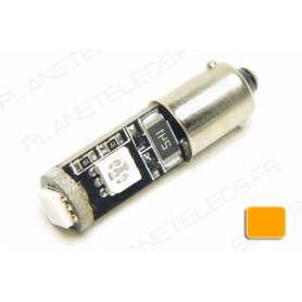 Ampoule Ba9s Orange Anti-Erreur OBD 3 Leds