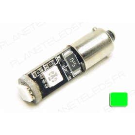 Ampoule Ba9s Verte Anti-Erreur OBD 3 Leds