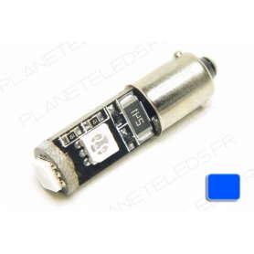Ampoule Ba9s Bleu Anti-Erreur OBD 3 Leds