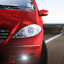 LED Front fog lights kit for Fiat 500 2007-2018