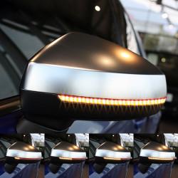Clignotants à défilement LED pour rétroviseurs Audi A3 8V