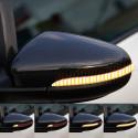 Clignotants à défilement LED pour rétroviseurs VW Golf 6