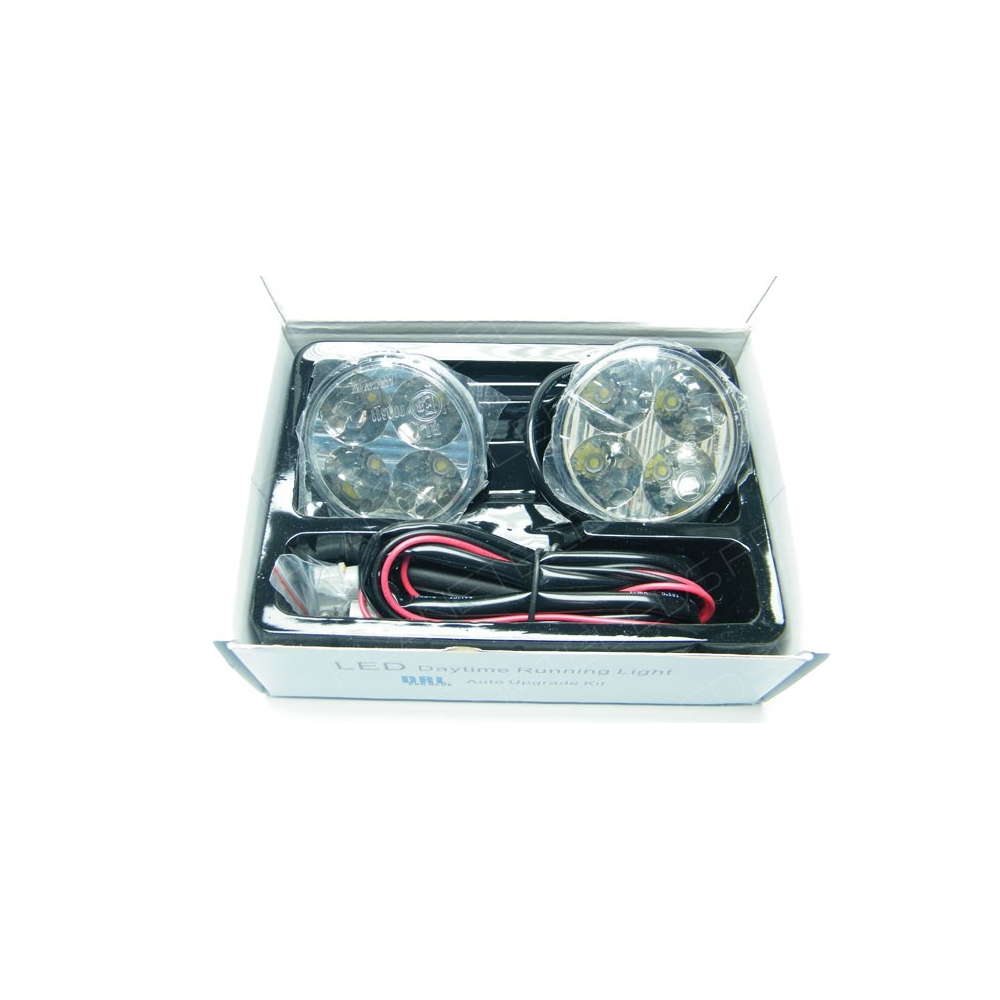 Projecteur de route led rond 8w 720lm 12v voiture auto - Projecteur led 12v ...