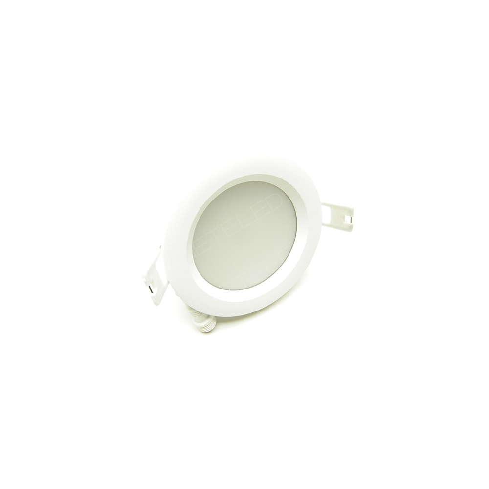 spot encastrer dimmable tanche 7w 530lm blanc jour 90 mm exterieur. Black Bedroom Furniture Sets. Home Design Ideas