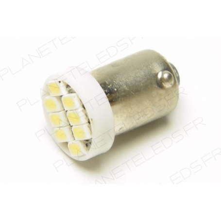 Led bulb BA9S White 8 SMD LED 6V