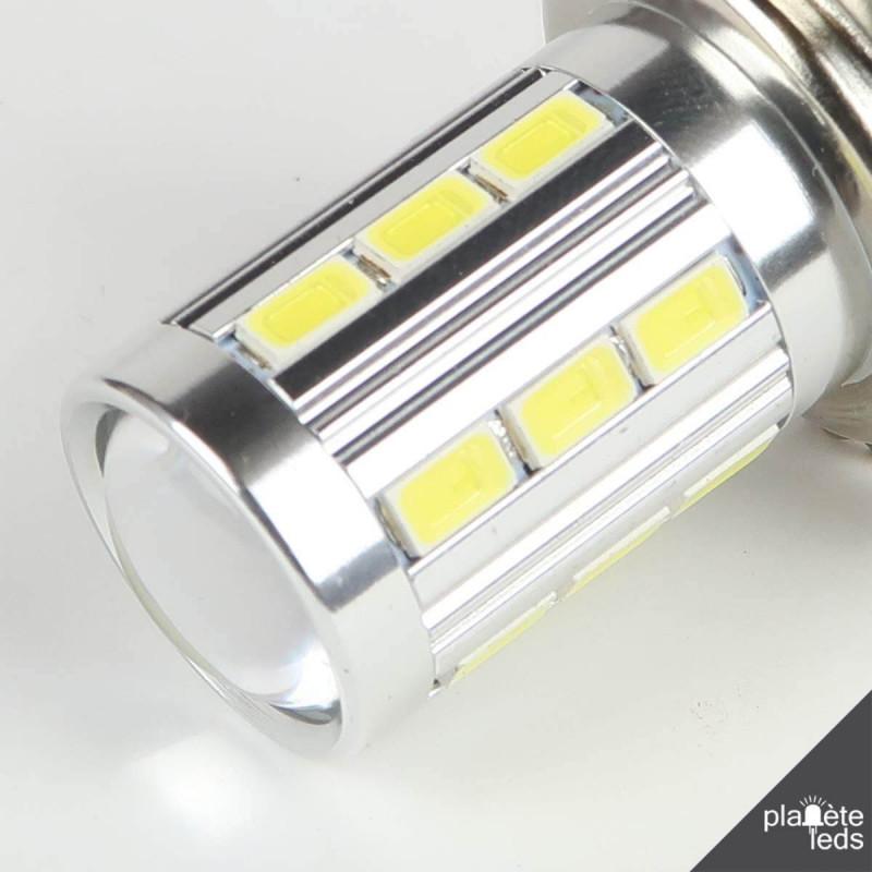 ampoule led h7 6000 k blanche anti erreur. Black Bedroom Furniture Sets. Home Design Ideas