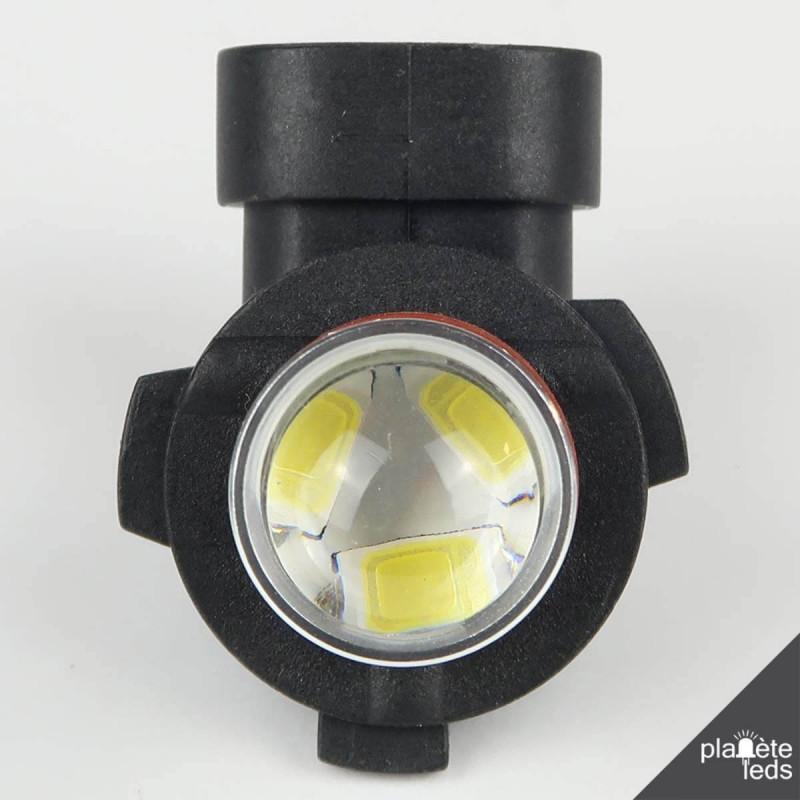 ampoule led h10 6000 k blanche anti erreur. Black Bedroom Furniture Sets. Home Design Ideas