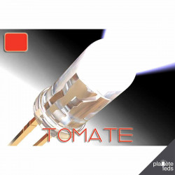 Led 5mm ColorPrecision TOMATO