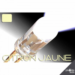 Led ColorPrecision 5mm CITRON JAUNE