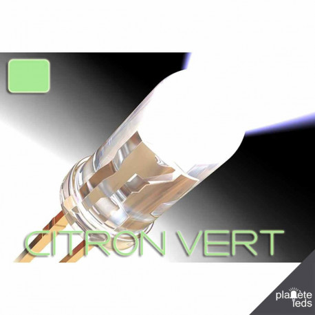 Led 5mm ColorPrecision GREEN LEMON
