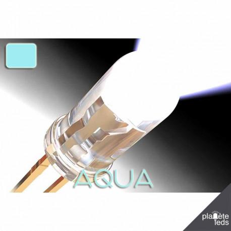 Led 5mm ColorPrecision AQUA (water)