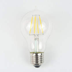 """Ampoule LED """"Joséphine"""" E27 A19 filament Compatible Variateur"""