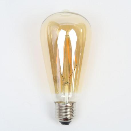 """Ampoule à led filaments pour maison et jardin : Ampoule LED E27 """"Félicie"""" Style Vintage"""