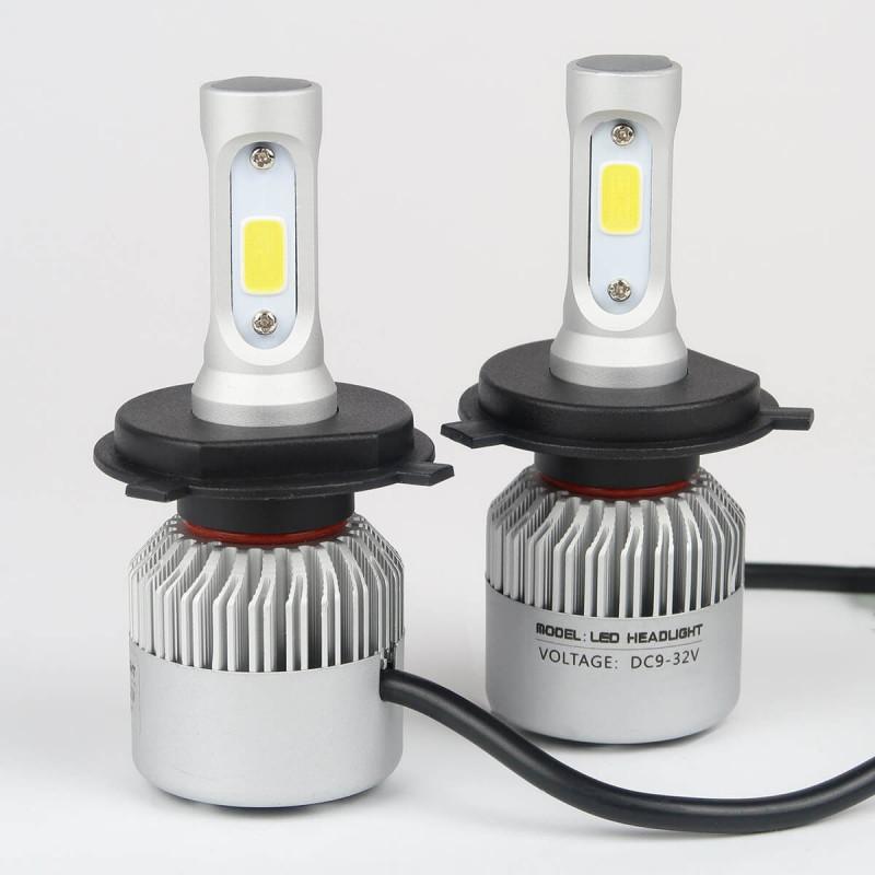 kit ampoules led h4 haute puissance ventil 4600lm livraison gratuite garantie 5 ans. Black Bedroom Furniture Sets. Home Design Ideas
