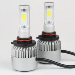 Ampoule à LED pour voiture et moto : Kit Ampoules LED HB3/9005 4600Lm Ventilé