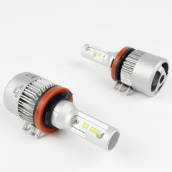 Kit LED H15 Blanche COB H/L CANBUS