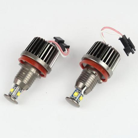Ampoules LED pour voiture et moto : Module Led Angel Eyes 40W CANBUS CREE XML T6 pour BMW E92/E93.../X5/X6