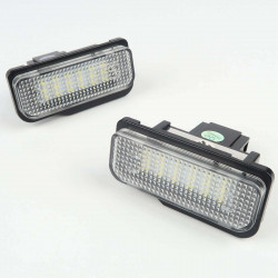 License plate LED Module for Mercedes W203 5D 2000-07