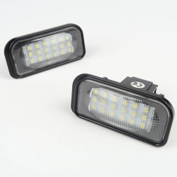 License plate LED Module for Mercedes W203 4D 2000-07