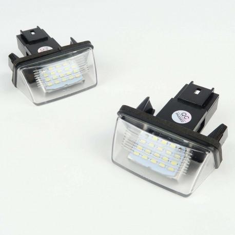 License plate LED Module for Peugeot / Citroen