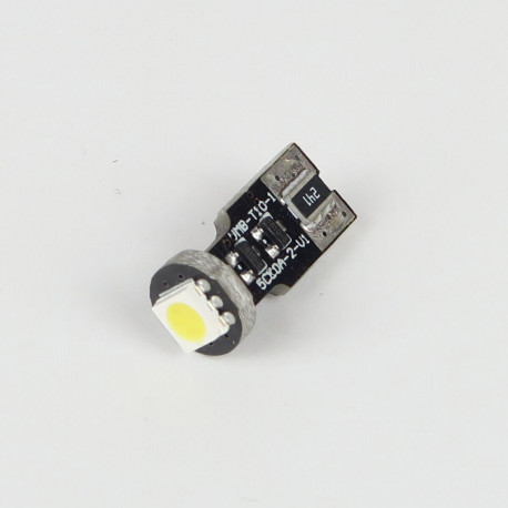 Eclairage LED pour voiture et moto : Ampoule LED anti erreur ODB 1 Led Blanche
