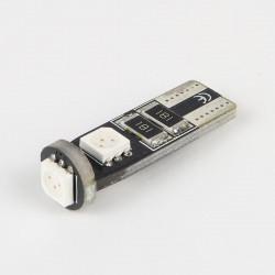 Ampoule led T10 Verte Anti-Erreur OBD 3 Leds