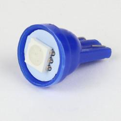 Led Bulb T10 - W5W - 1 SMD LED Blue