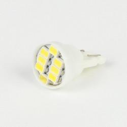 Led bulb T10 8 Led SMD White 6V