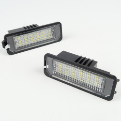 License plate LED Module for VW Eos, Golf 4,5,6, Lupo...