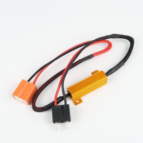 Accessoires LED pour voiture et moto : Résistance anti-erreur pour H7