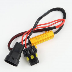 Error proof resistor for HB3/9005/H10