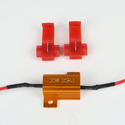 resistor no-error ODB 25W Pre-Wired