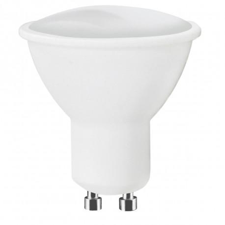Lot de 10 ampoules LED GU10 5W Blanc Chaud 120° 200 Lm