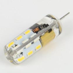 Ampoule LED G4 24 Leds 1.5W blanc chaud