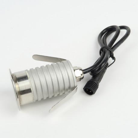 Spot à Encastrer au sol 3W Blanc Jour 250 lumens IP67