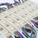 Chain Modules 20 Rectangle 3 LED RGB IP65 5050
