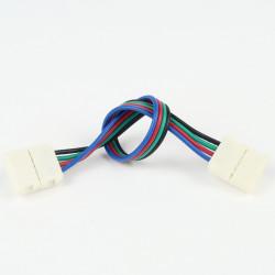 Connecteur à Câble Femelle-Femelle RGB 10mm (Pour bande classique)