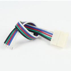 Connecteur àCâble RGB+W 12mm (Pour bande flexible)