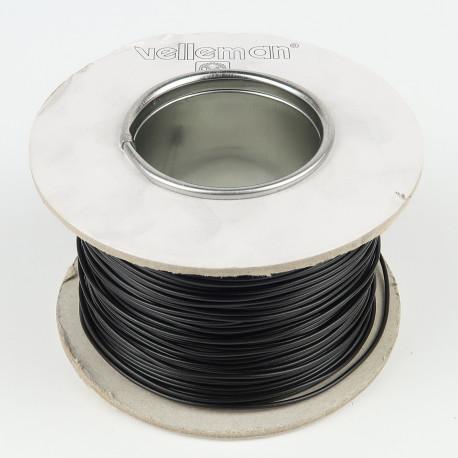 100 mètres de fil de cablage Noir