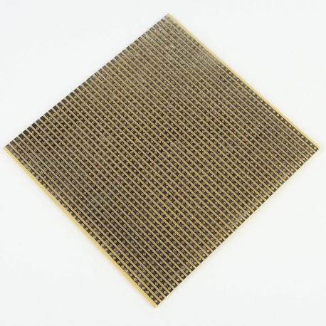 Plaque D'essai A Bande Bakelite 100 x 100 mm