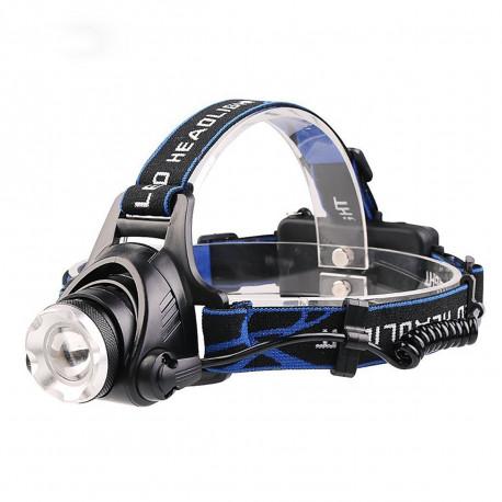 Accessoires LED pour camping et randonnée : Lampe LED frontale
