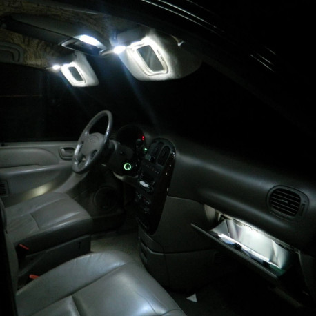 Interior LED lighting kit for Citroën C3 Phase 1 2002-2009