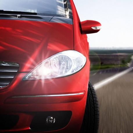 Pack LED feux de croisement/route pour Fiat Punto Evo et Grande Punto 2005-2018
